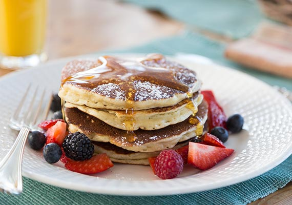 Okema Area Bed and Breakfast - Breakfast Pancakes