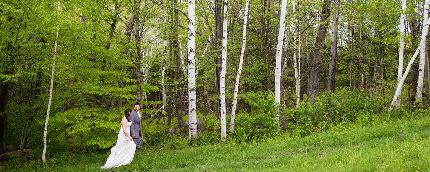 Elope in Vermont - bride and groom