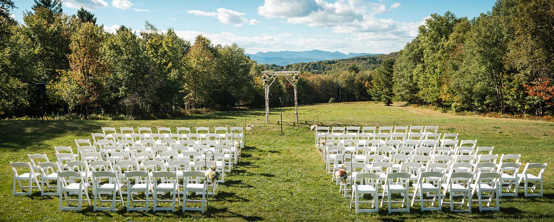 Vermont Outdoor Weddings